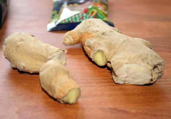 Ingefær småkager med frisk ingefær – ca. 60 stk
