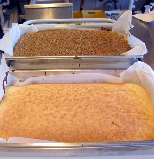 Drømmekage fra Brovst, 1 stor eller 2 alm. bradepander