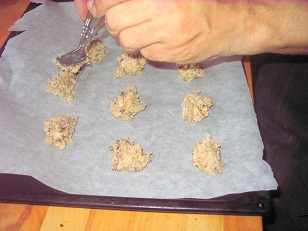 Chokolade cookies, ca. 40 stk.
