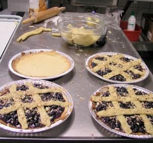 Tærter med bær, 6 – 8 stk.