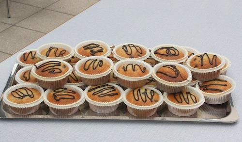 Banan-muffins, ca. 20 stk.