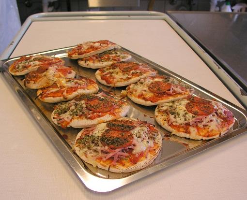 Pizza på pitabrød, 12 stk.