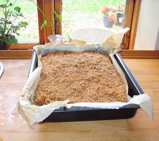 Drømmekage fra Brovst, 1 bradepande