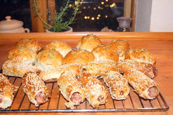Flere slags brød af samme dej