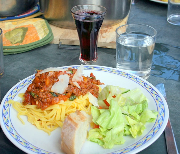 Pasta Bolognese, 8 personer