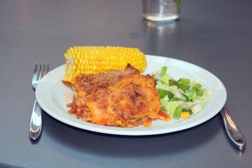 Lasagne, til 6 personer