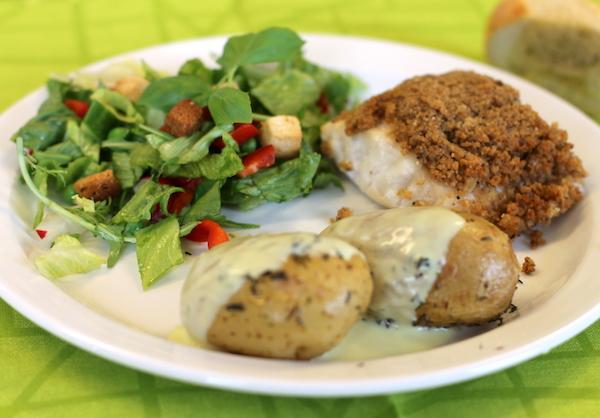 Ovnbagt Lange-filet med crunch og fennikel – til 5 – 6 personer