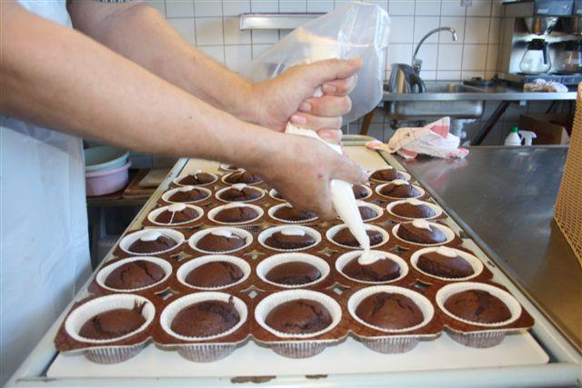 Chokolademuffins, 60 stk.